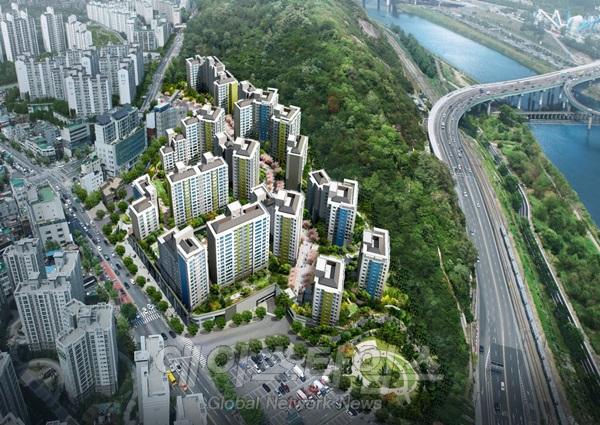현대건설, '힐스테이트 금호' 9월 일반 분양