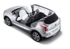 쌍용자동차 티볼리, KNCAP 안전성 최고 등급 획득