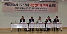 [현장포토] 문화예술계 민간단체 역량강화와 과제 토론회